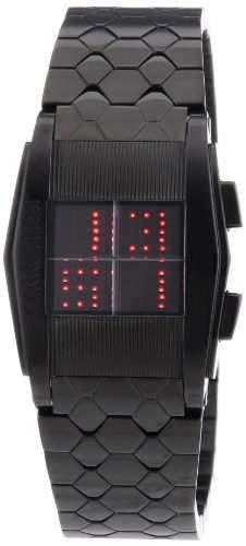 Cerruti 1881 Damen-Armbanduhr Digital LED Edelstahl schwarz