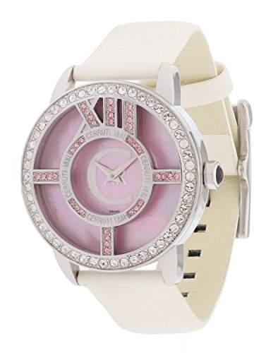Cerruti Damen Armbanduhr Weiss CRM044B266A