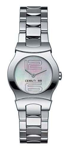 Cerruti 1881 Damen-Armbanduhr C-emozione Silber 4249615