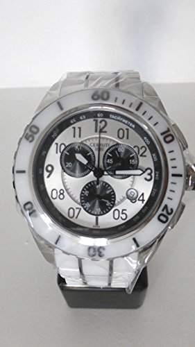 Cerruti Herren Armbanduhr Keramik Weiss CRA079Z251H