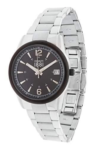 Cerruti Damen-Armbanduhr Analog Quarz Edelstahl CRM103STB02MS