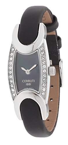 Cerruti Damen Armbanduhr Schwarz CRO015B222A
