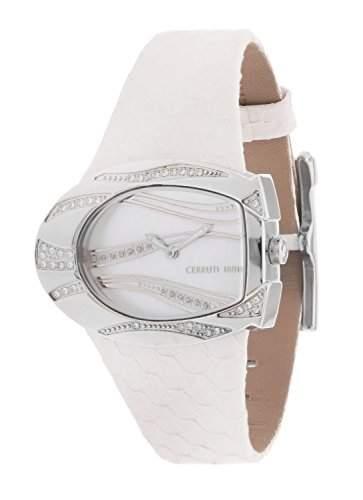 Cerruti Damen Armbanduhr Weiss CRP003B266A