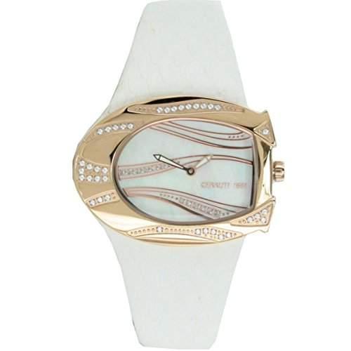 Cerruti Damen Armbanduhr Weiss CRP003R266A