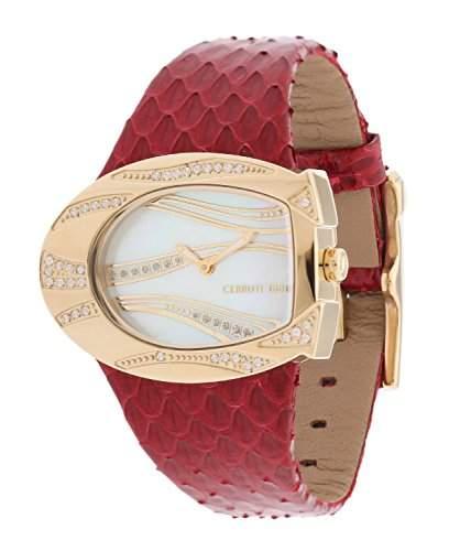 Cerruti Damen Armbanduhr Rot CRP003SG28RD