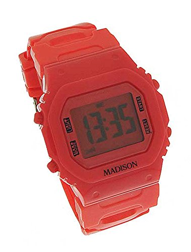Madison N Y Candy Time Damen Digital Silikon Pink 9447
