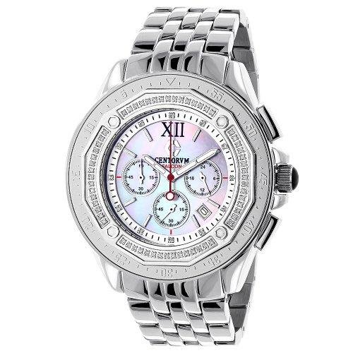 Centorum Diamond Watches Mens Falcon 0 55ct