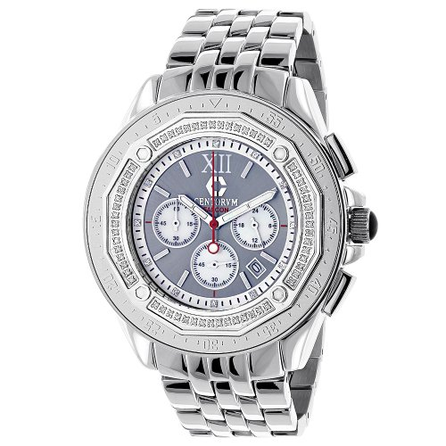 Centorum Mens Diamond Watch 0 55ct