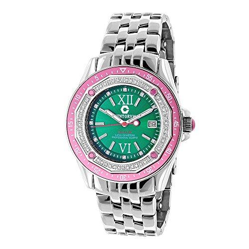 Diamond Watches Centorum Designer Diamond Watch 0 5ct