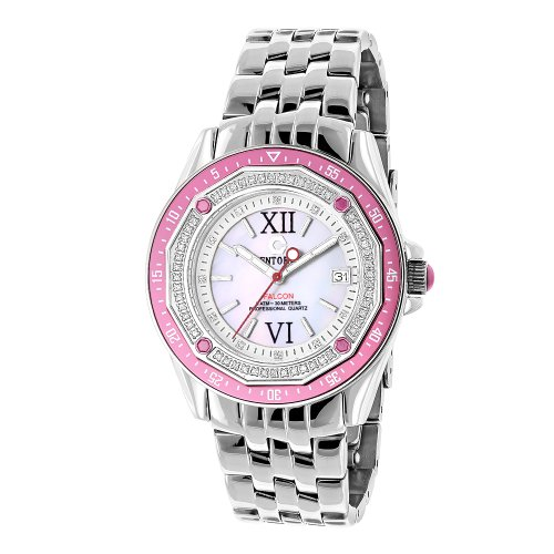 Pink Watches Centorum Ladies Diamond Watch 0 50ct