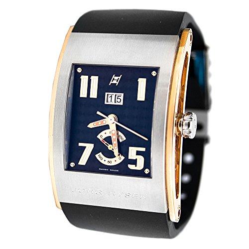 Hysek Kilada Herren Automatikwerk Schwarz Kautschuk Armband Uhr KI32B00A42 CA01
