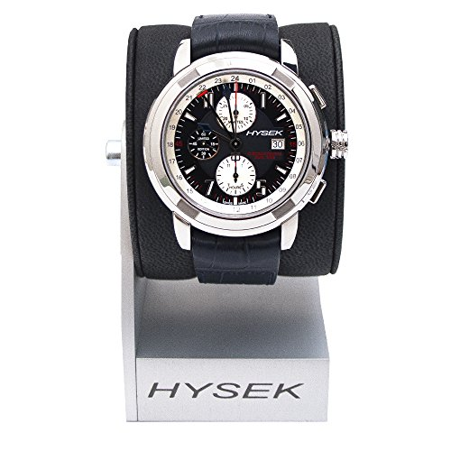 Hysek Io Chronograph And Dual Time Herren 47mm Chronograph Datum Uhr IO4704A02