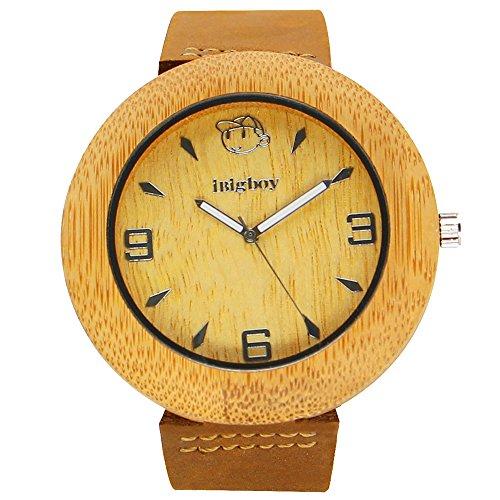 iBigboy Erde Holz Uhr mit Farben mischen zusammen und einfach fett Kombination Uhr