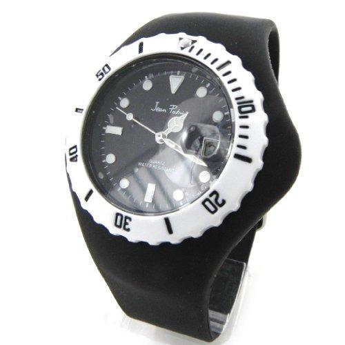 Armbanduhr design Absolu schwarz weiss