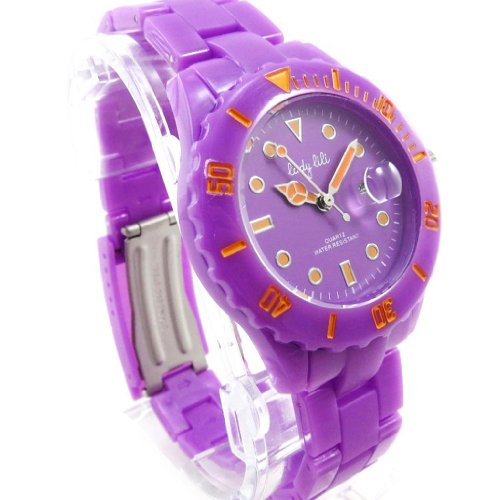 Armbanduhr french touch Lady Lili purpur