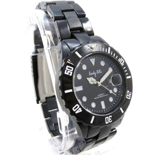 Armbanduhr french touch Lady Lili schwarz