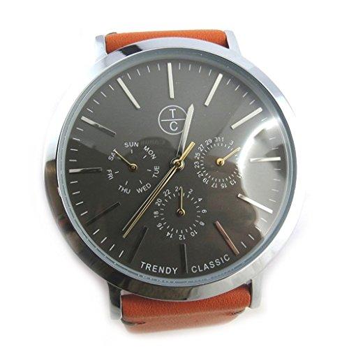 Armbanduhr french touch Trendyorange grau