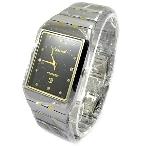 Armbanduhr french touch High Tech grau ueberzogen gold
