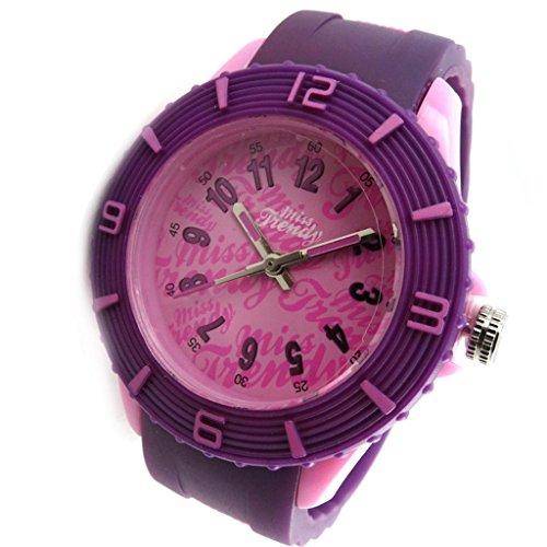 Armbanduhr tochter Trendyrosa purpur