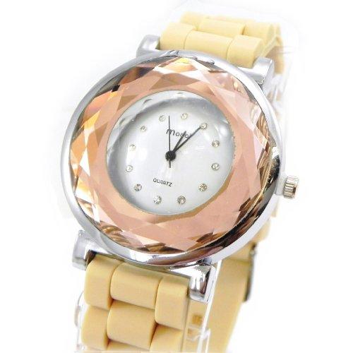 Armbanduhr design Absolu beige