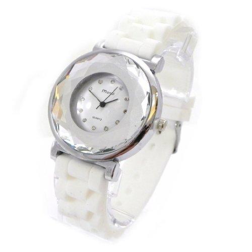 Armbanduhr design Absolu weiss