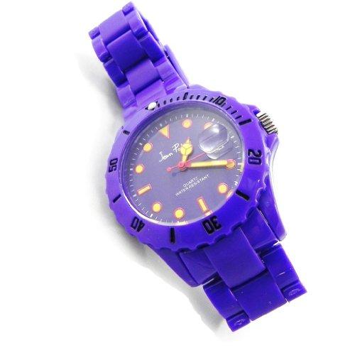 Armbanduhr design Absolu purpur