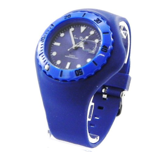 Design uhr Absolu blau