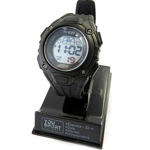Les Tresors De Lily M6145 Armbanduhr sport Coloriage schwarz