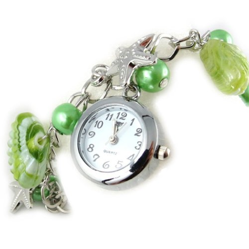Armbanduhr Scarlettgruen