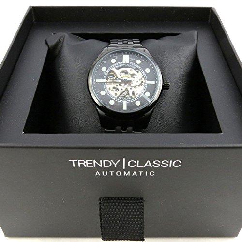Automatische armbanduhr Trendyschwarz
