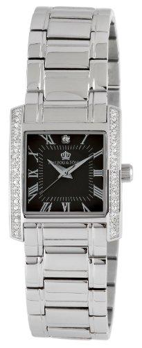Herzog Soehne Armbanduhr grau silber 27x33