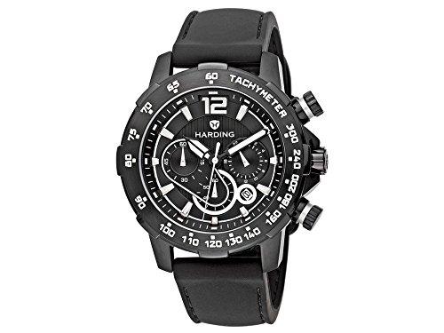 Harding Uhr HS0301 Speedmax Stahl Kautschuk schwarz