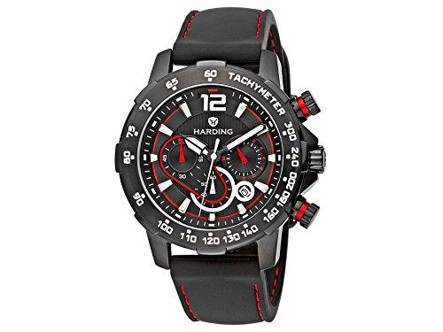 Harding Uhr hs0302 Speedmax Stahl Kautschuk schwarz