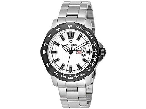 Harding Uhr HS0306 Speedmax Gehaeuse und Armband aus Edelstahl