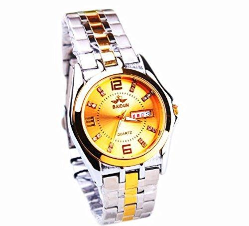 Baidun Fashion Mann einfache und elegante Uhr neuesten menssteel wasserdichte Uhren