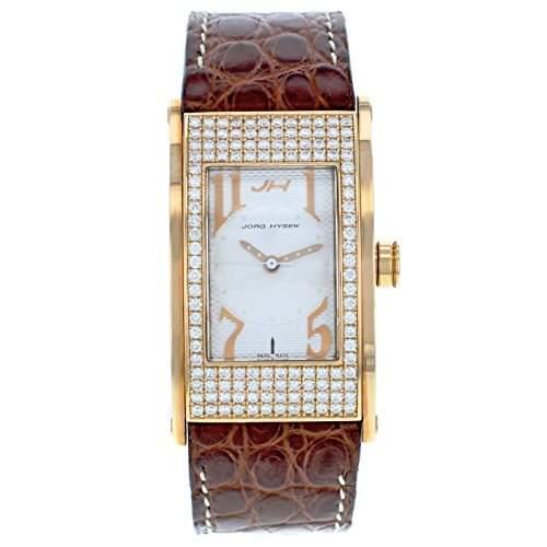 Joerg HYSEK ki21r30 18 K Gelb Gold Factory Diamant Quarz