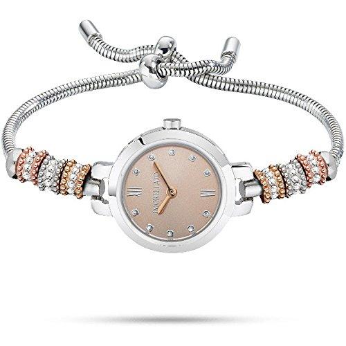 Morellato Armbanduhr mit Perlen und Kristallen R0153122559 Tropfen