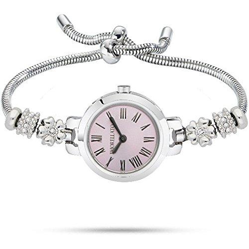 Morellato Armbanduhr mit Perlen und Kristallen R0153122561 Tropfen