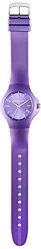 Morellato-R0151114534-Colours Damen-Armbanduhr-Quarz Analog-Zifferblatt Violett Armband Kunstharz violett
