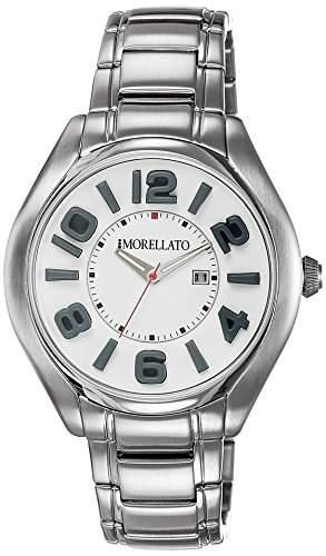Morellato Herren-Armbanduhr Analog Quarz Edelstahl R0153104002