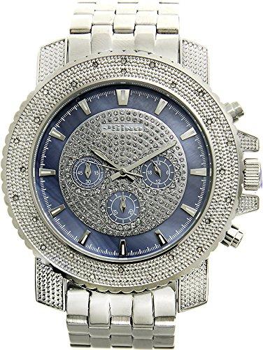 JoJino GOLF MJ 1209 55 50 mm rund Herren Diamant Armbanduhr Farbe Weiss