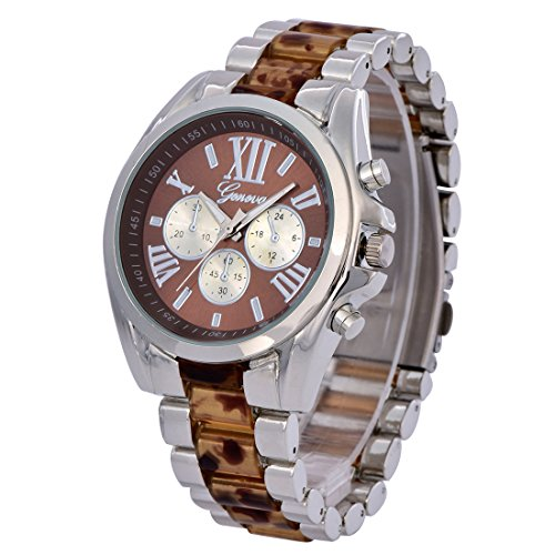 BYD Herren Uhren Watch Rostfreier Stahl Bronzo Analoges Quarzwerk Analog