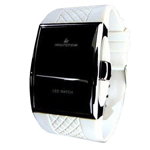 BYD LED Watch Unisex Uhren Watch Silikongel Mehrfarbig Digitals Quarzwerk Digital
