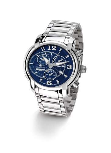 Philip Watch Herren-Armbanduhr Analog Quarz Edelstahl R8273650035