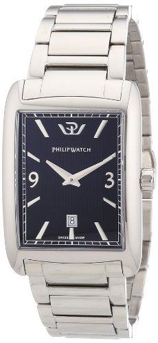 Philip Watch TRAFALGAR Analog Quarz Edelstahl R8253174001