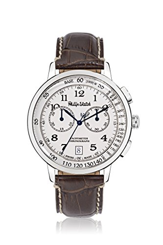 PHILIP WATCH GRAND ARCHIVE 1940 Chronograph Quarz Leder R8271698004