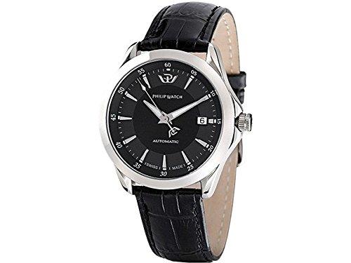 Philip Watch r8221165125 Zeigt Herren Automatische Analog Armband Alligatorleder braun