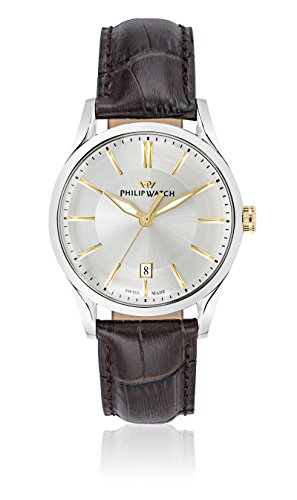 Philip Watch beweger collection SUNRAY Leder braun R8251180004