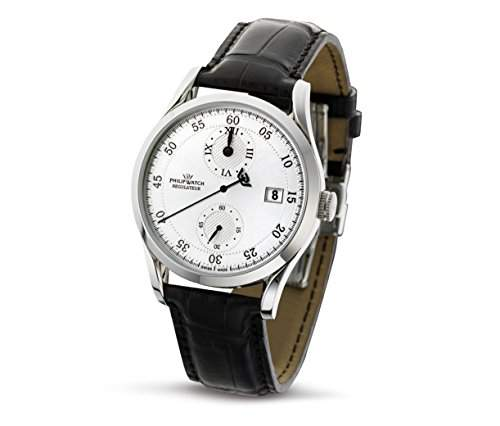Philip Watch Herren-Armbanduhr SUNRAY Analog Quarz Leder R8221180015