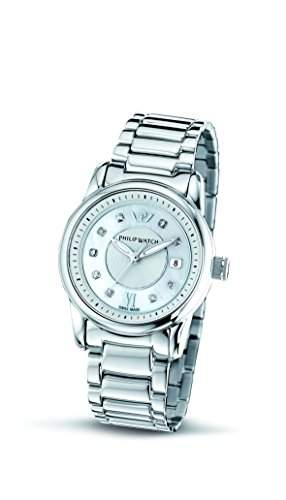 Philip Watch Damen-Armbanduhr KENT Analog Quarz Edelstahl R8253178505
